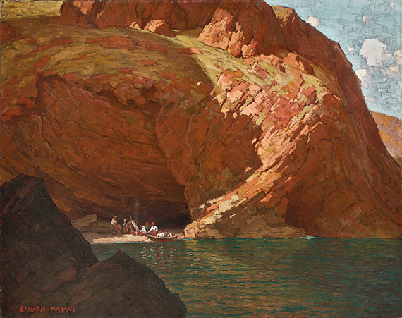 Fig. 8: Edgar Alwin Payne (1883–1947) The Rendezvous (Santa Cruz Island, CA), 1915 Oil on canvas, 33 x 42 inches Private collection