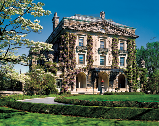 Fig. 7: Kykuit was home to four generations of Rockefellers. It is now a property of the National Trust for Historic Preservation; Historic Hudson Valley provides tours. Photography by Mike Hales.