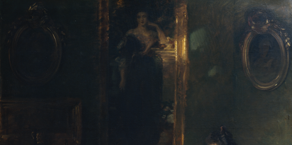 Fig. 2: John Singer Sargent (1856–1925), The Wyndham Sisters: Lady Elcho, Mrs. Adeane, and Mrs. Tennant, 1899. Oil on canvas, 115 x 84-1/8 inches. Catharine Lorillard Wolfe Collection, Wolfe Fund, 1927 (27.67).