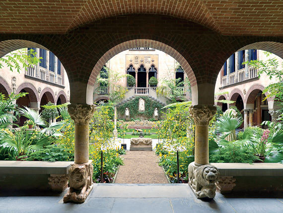 Fig. 3: Courtyard garden display. Photography by Clements + Howcroft, 2008.