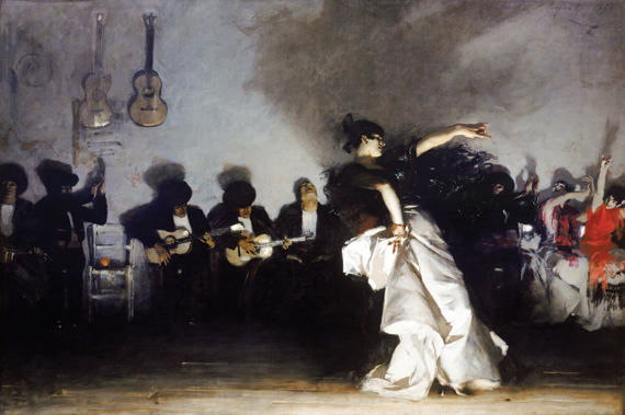 Fig. 4: John Singer Sargent (American, 1856–1925), El Jaleo, 1882. Oil on canvas, 913/10 x 137 inches