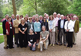A recent group photo taken during one of the society's trips