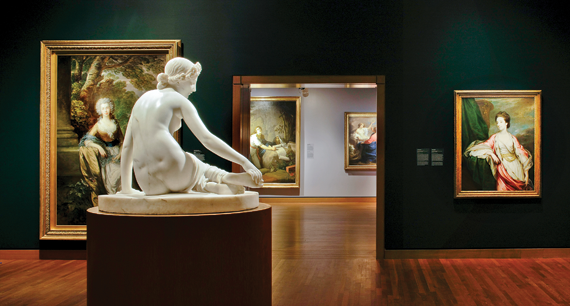 Reinstallation of Old Masters Gallery. Photography © Marc Cramer.