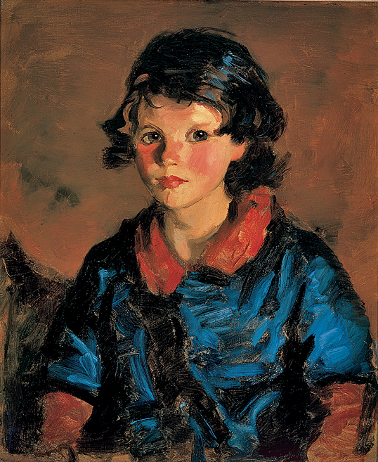 Fig. 12: Robert Henri (1865–1929) Mary Ann Cafferty, 1928 Oil on canvas, 24 x 20 inches Courtesy, private collection
