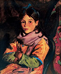 Fig. 3: Robert Henri (1865–1929) Mary Agnes, 1924 Oil on canvas, 24 x 20 inches Courtesy, private collection of Ti