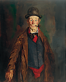 Fig. 6: Robert Henri (1865–1929) My Friend Brien, 1913 Oil on canvas, 41 x 33 inches Courtesy, Mint Museum of Art; gift of Mr. and Mrs. John L. Crist Jr. in memory of John L. Crist Sr. (1966.14)