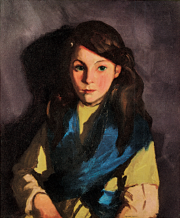 Fig. 9: Robert Henri (1865–1929) Sarah B., 1924 Oil on canvas, 23-1/4 x 19-5/8 inches Courtesy, private collection