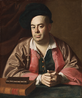 "Fig. 5: John Singleton Copley (1738–1815). Nathaniel Hurd, ca. 1765. Oil on canvas, 30 x 25-1/2 inches. Courtesy, The Cleveland Museum of Art; gift of the John Huntington Art and Polytechnic Trust (1915.534).  In his ""Sketch of the life and a list of some of the works of John Singleton Copley"" (Cambridge, Mass, 1873) Augustus Thorndike Perkins (1827–1891) described Nathaniel Hurd as an excellent artist and possibly a pupil of Copley's half-brother Peter Pelham."