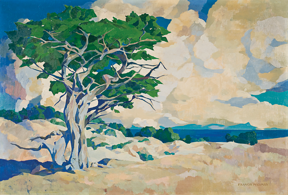 Fig. 2: Francis John McComas (1874–1938) Monterey Cypress, 1914 Oil on canvas, 41 x 60 inches Courtesy, Monterey Museum of Art, Monterey, Calif. Gift of Jane and Justin Dart