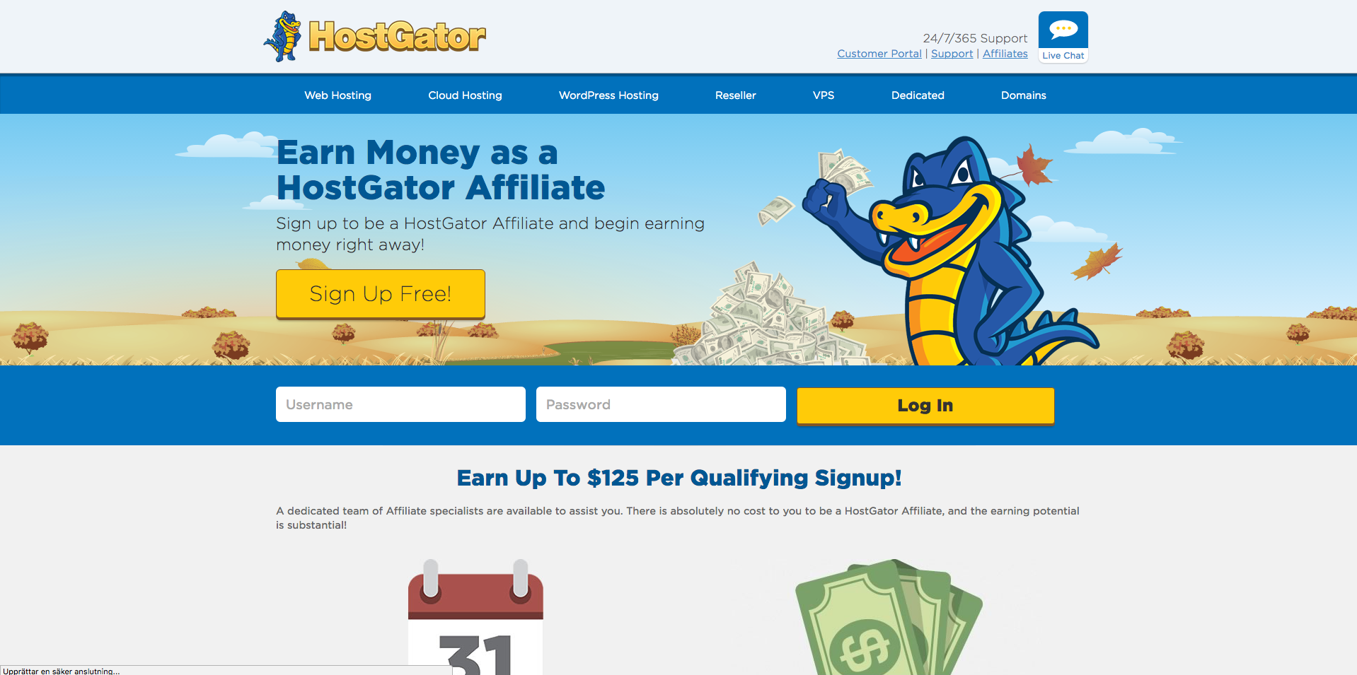 Hostgator affiliate program domain