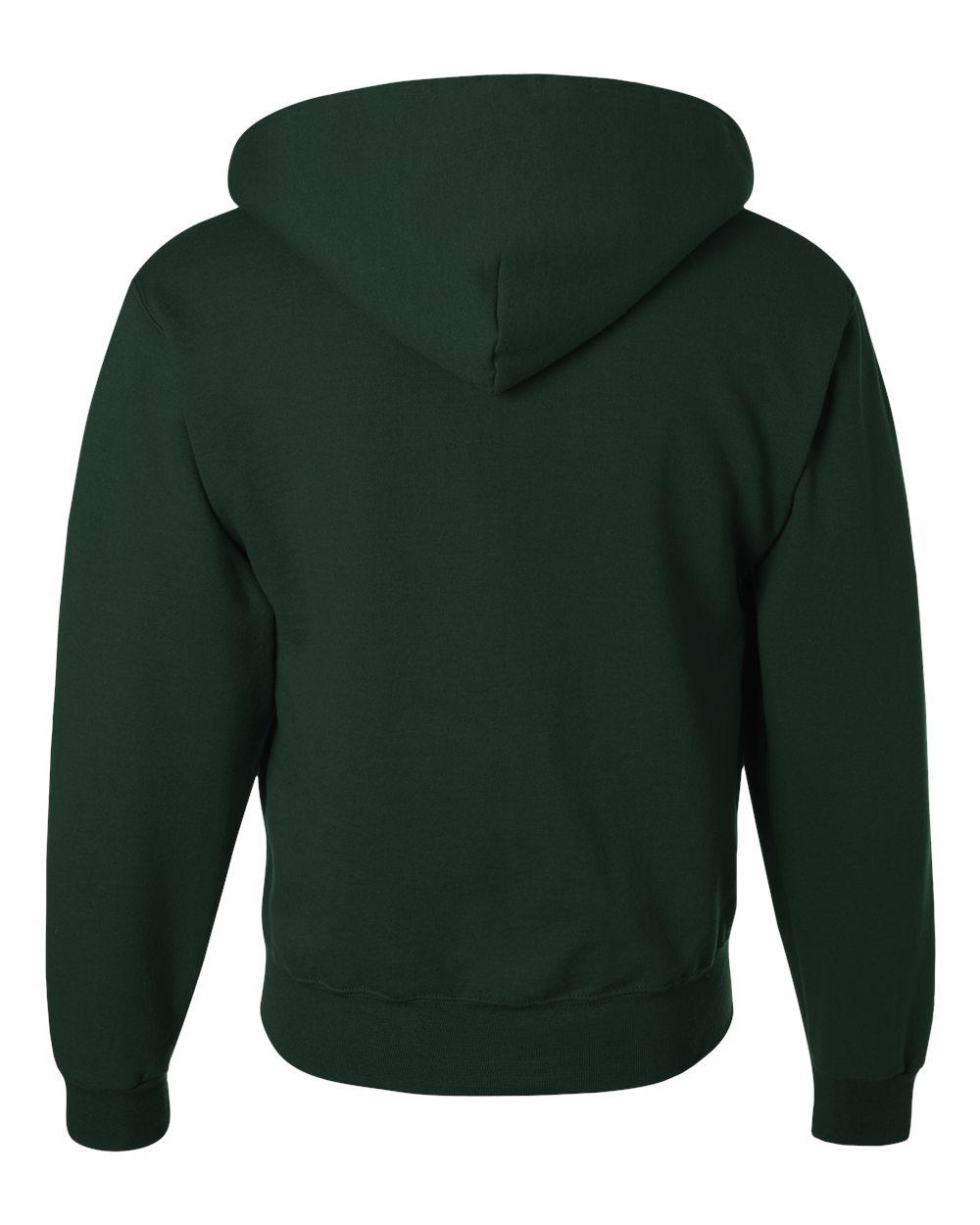 50//50 Super Sweats NuBlend Fleece Full-Zip Hood-4999 Mens 9.5 oz Jerzees