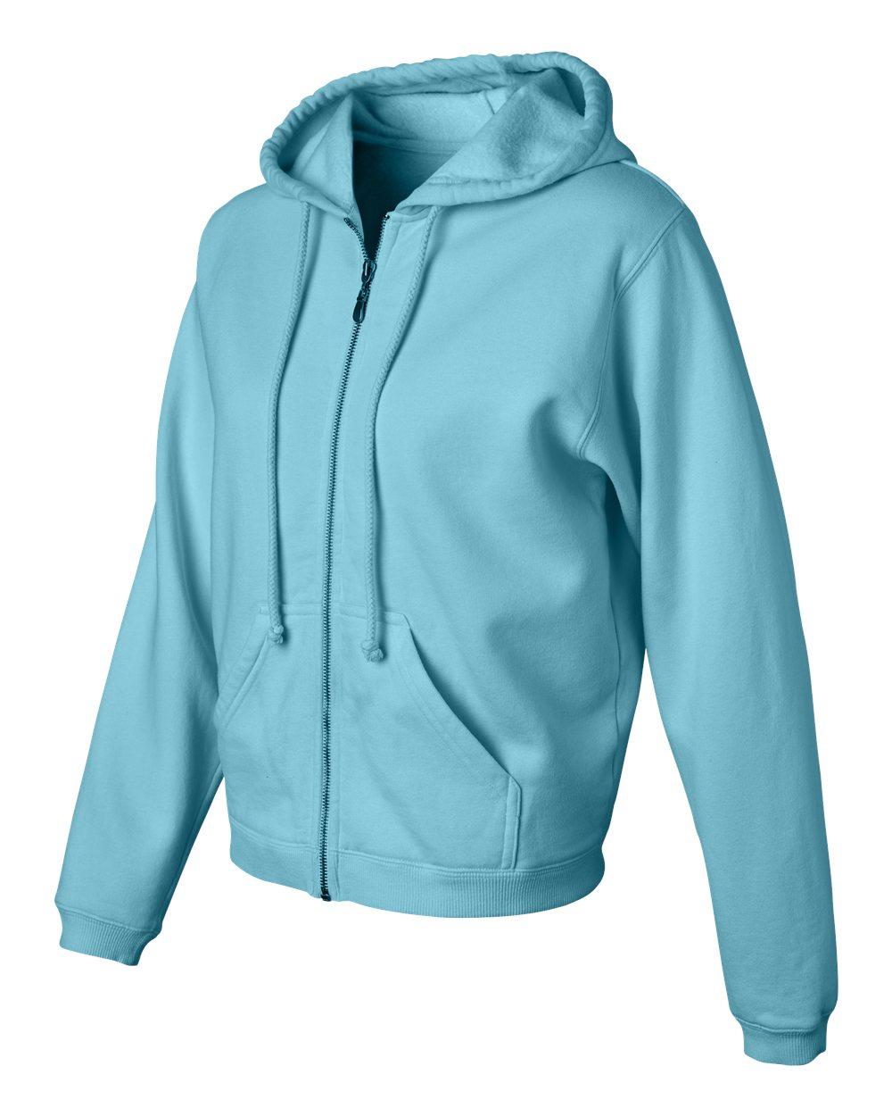 Garment-Dyed Full-Zip Hood C1598 S-2XL Comfort Colors Women/'s 10 oz