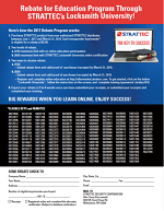 Locksmith Rebate Form Image