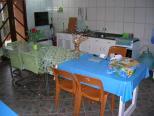 cozinha na área da churrasqueira