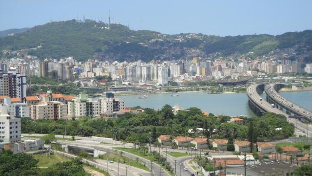 10. Vista da ilha