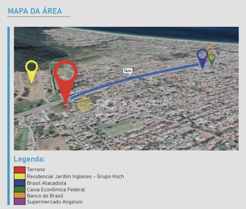 Terreno Código 14785 a Venda no bairro Ingleses na cidade de Florianópolis