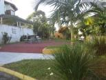 Praça e jardim