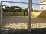 Quadra de futebol de areia