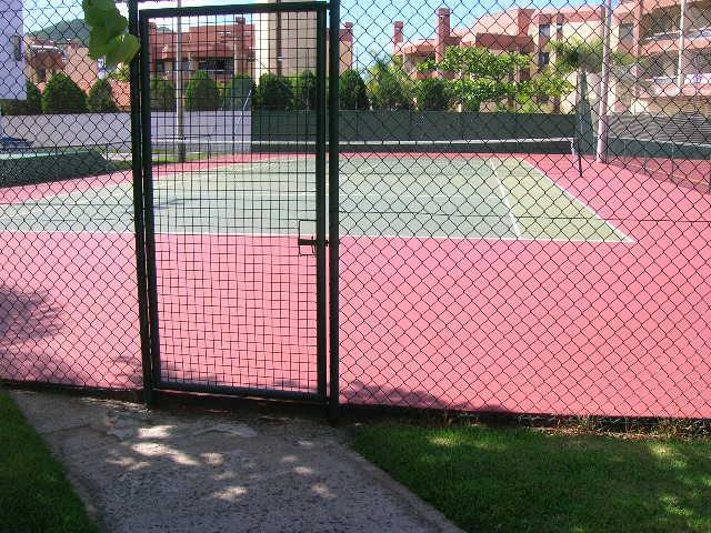 43. Quadra de tênis