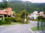 rua interna do condomínio