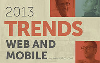 Web Design & Mobile Trends for 2013