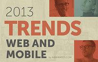 Web Design & Mobile Trends for 2013