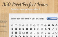 350 Pixel Perfect Icons