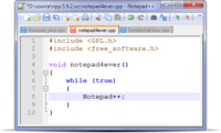Notepad ++