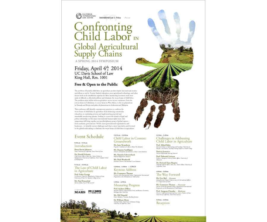 """image from """"Child Labor"""" Event branding group"""