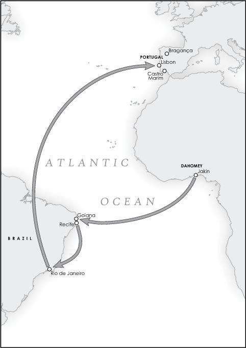 The Atlantic Travels of Domingos Alvares, 1730-1749