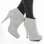 image from Suede Platform Boot (Grey) group