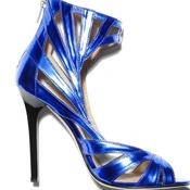 image from Jimmy Choo Metalic Blue Heels group
