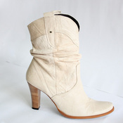 image from Cream Heeled Cowboy Boots group