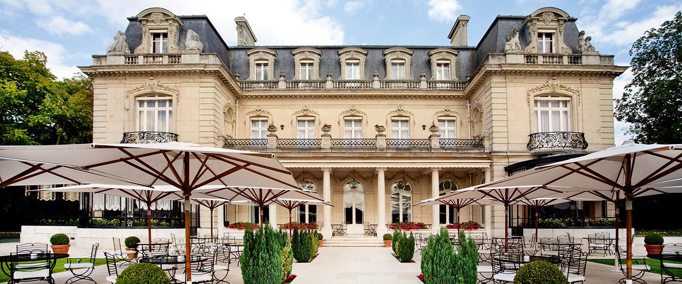 Ch teau les cray res reims france - Le jardin restaurant reims ...