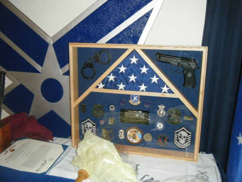 MSgt Arturo Acosta (Art) - Of all the medals, awards, formal presentations and qualification badges you received, or other memorabilia, which one is the most meaningful to you and why?