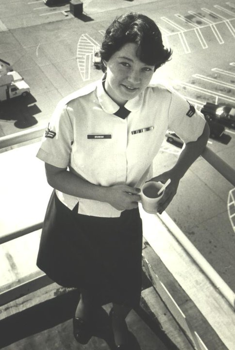 TSgt Kitty Bickford - Whether you were in the service for several years or as a career, please describe the direction or path you took. What was your reason for leaving?