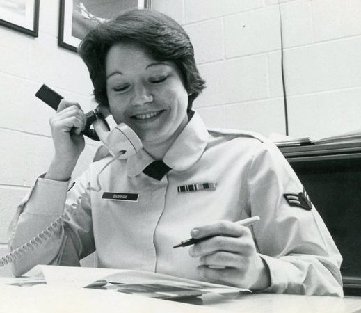 TSgt Kitty Bickford - Can you recount a particular incident from your service, which may or may not have been funny at the time, but still makes you laugh?