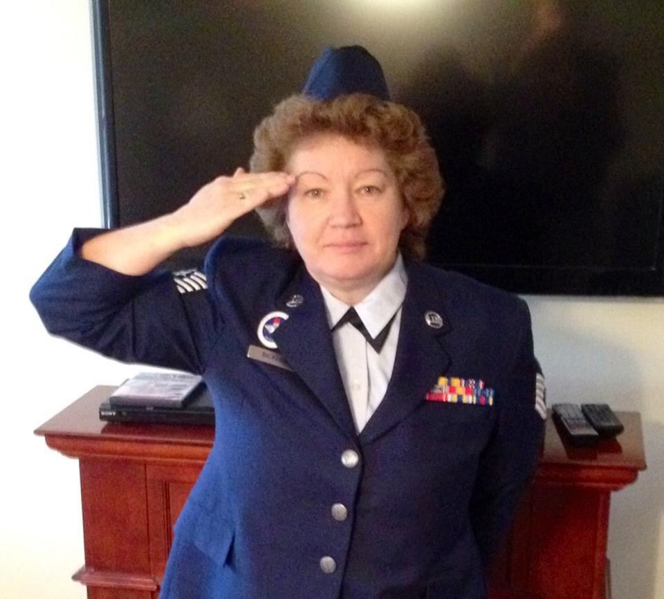 TSgt Kitty Bickford - Based on your own experiences, what advice would you give to those who have recently joined the Air Force?