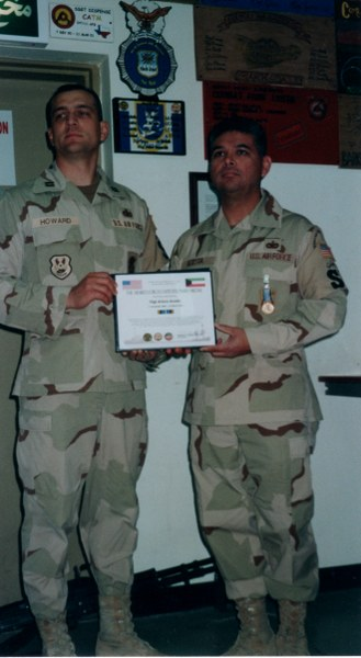 MSgt Arturo Acosta (Art) - What professional achievements are you most proud of from your military career?