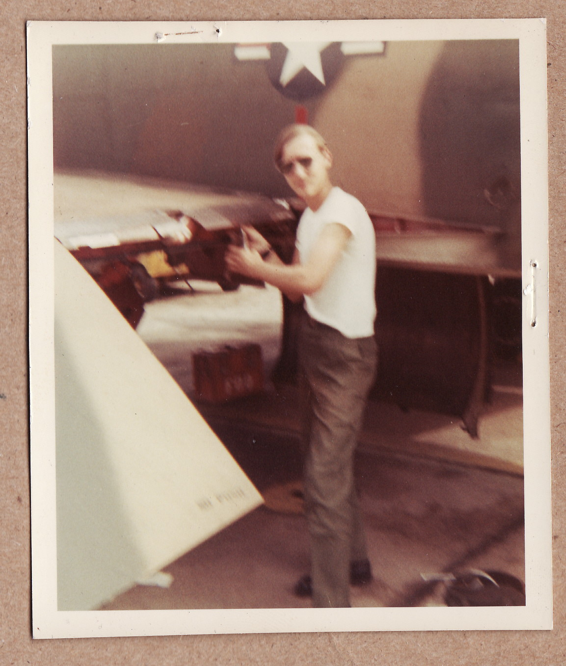 A1C Glenn Scott - Please describe who or what influenced your decision to join the Air Force?