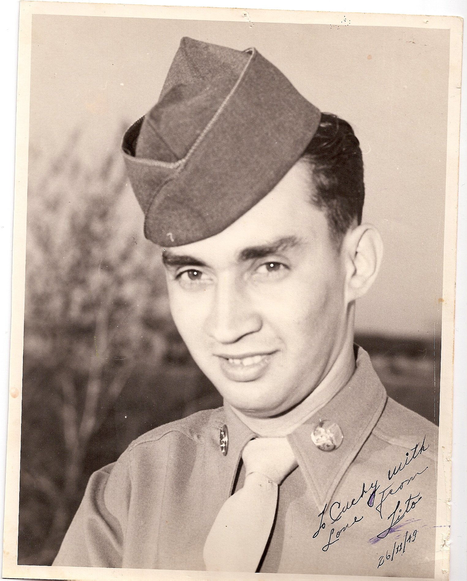 MSgt Carlos A Barradas (Tito) - Please describe who or what influenced your decision to join the Air Force.