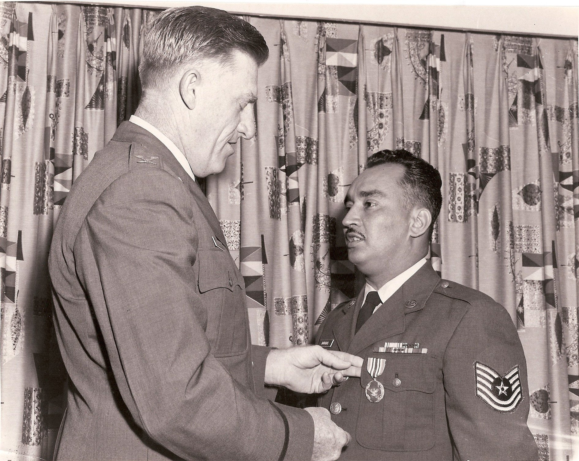 MSgt Carlos A Barradas (Tito) - Of all the medals, awards, formal presentations and qualification badges you received, or other memorabilia, which one is the most meaningful to you and why?