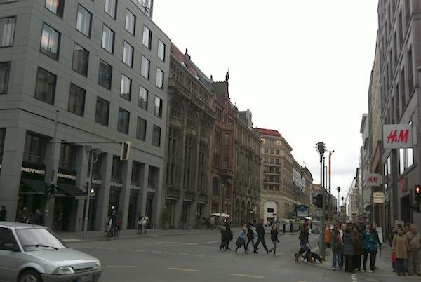 Centro comercial em Berlim