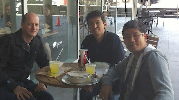 Almoçando com Hiro