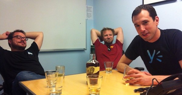 Whisky no Yammer