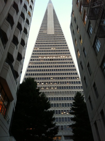 Transamerica Pyramid - outside