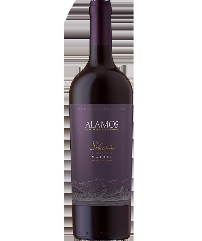 bottle of Selección Malbec