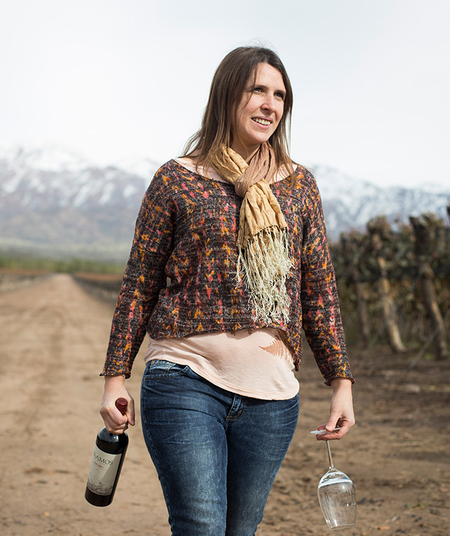 Argentine Winemaker: Lucía Vaieretti Bottle Shot