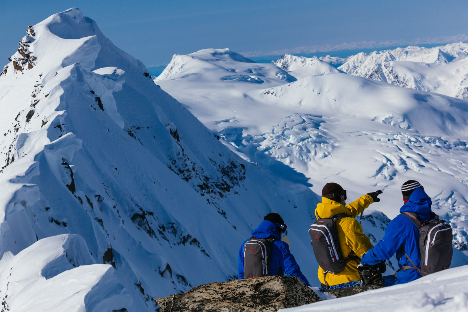 THE FIRST CHOICE FOR ALASKA HELI SKIING AND HELI BOARDING IN VALDEZ
