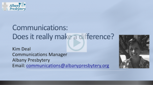 Title Slide Communications Overview Jan 2016 Video Slide